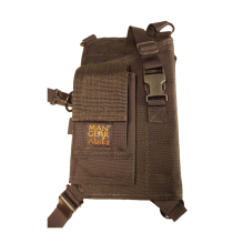 """MGP6-XP-6 1/2 """" X-Frame with Cartridge Loops and Pouch"""