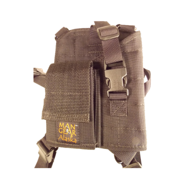 MGP3-P – 3″ Revolver with Cartridge Loops and Pouch